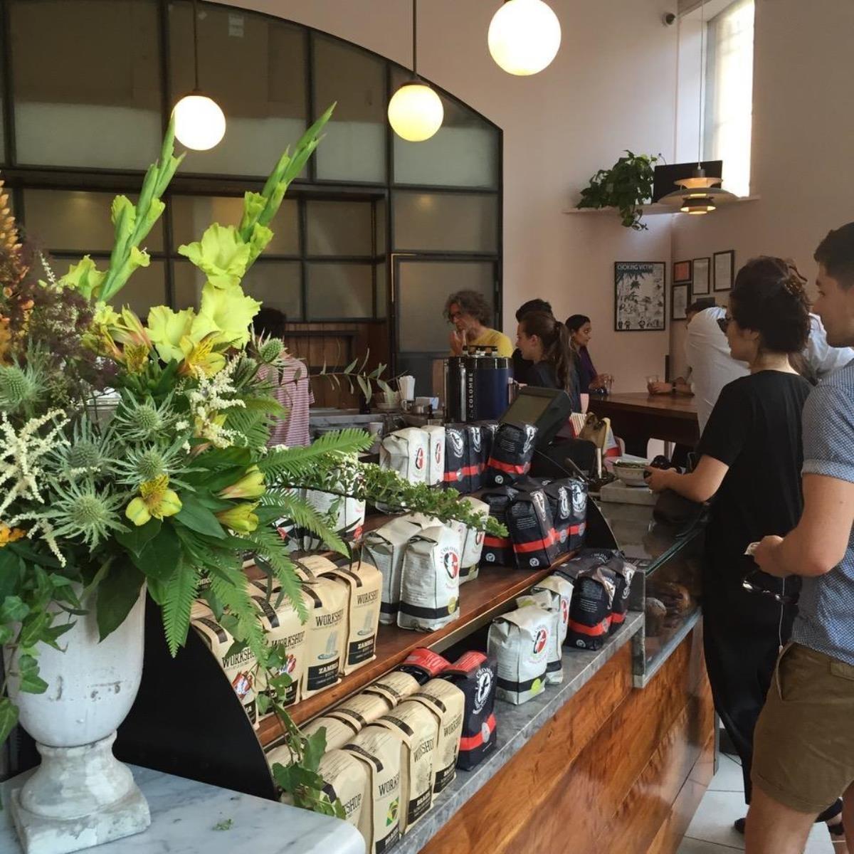 咖啡可以客制化喜好的La Colombe(Michi Liang提供)