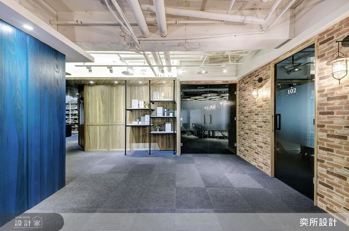 10F 空間大致可區分成會議室、出貨區、品保實驗室與茶水間,而會議空間又規劃出 1 間 30 人會議室、各 2 間 6 人與 12 人會議室,滿足各式需求。