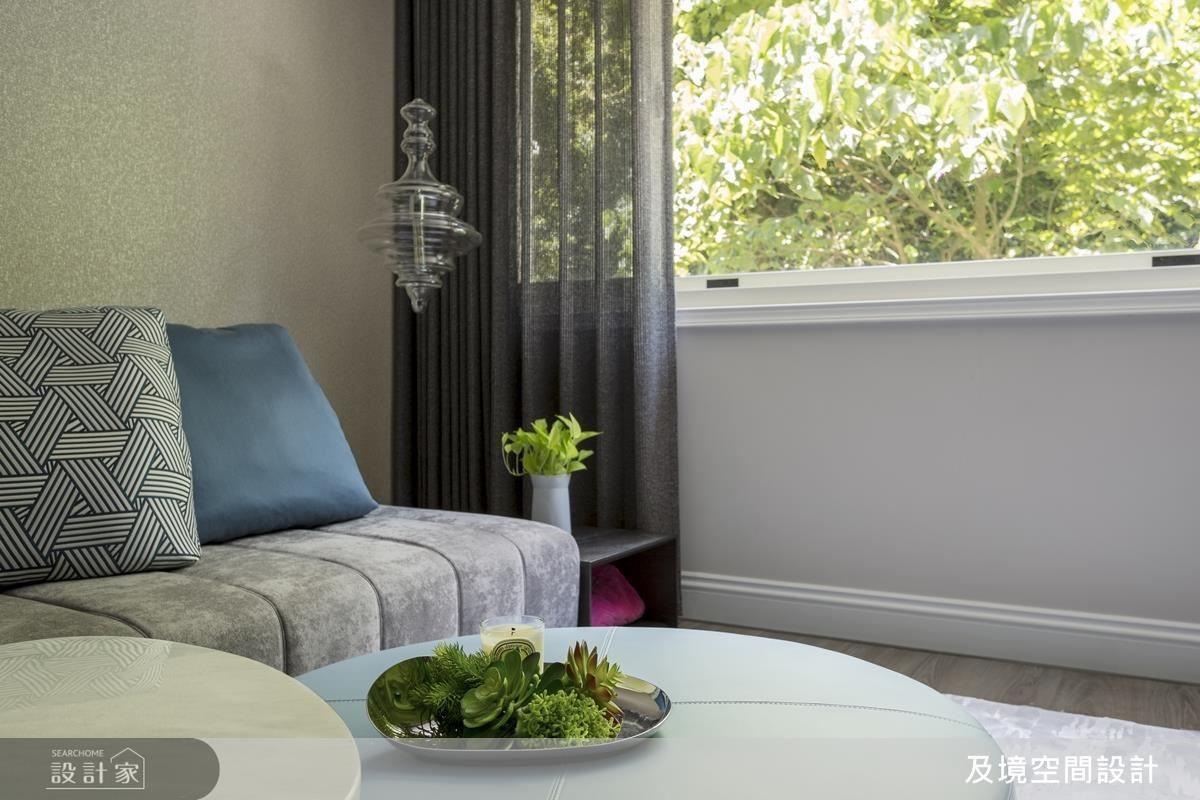 家飾軟件由女屋主親自挑選,再藉由設計師的搭配,讓空間更加完美。