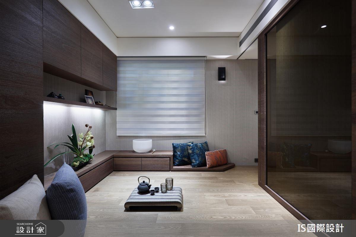 和室提供屋主一處休憩角落,必要時也能成為客房使用。