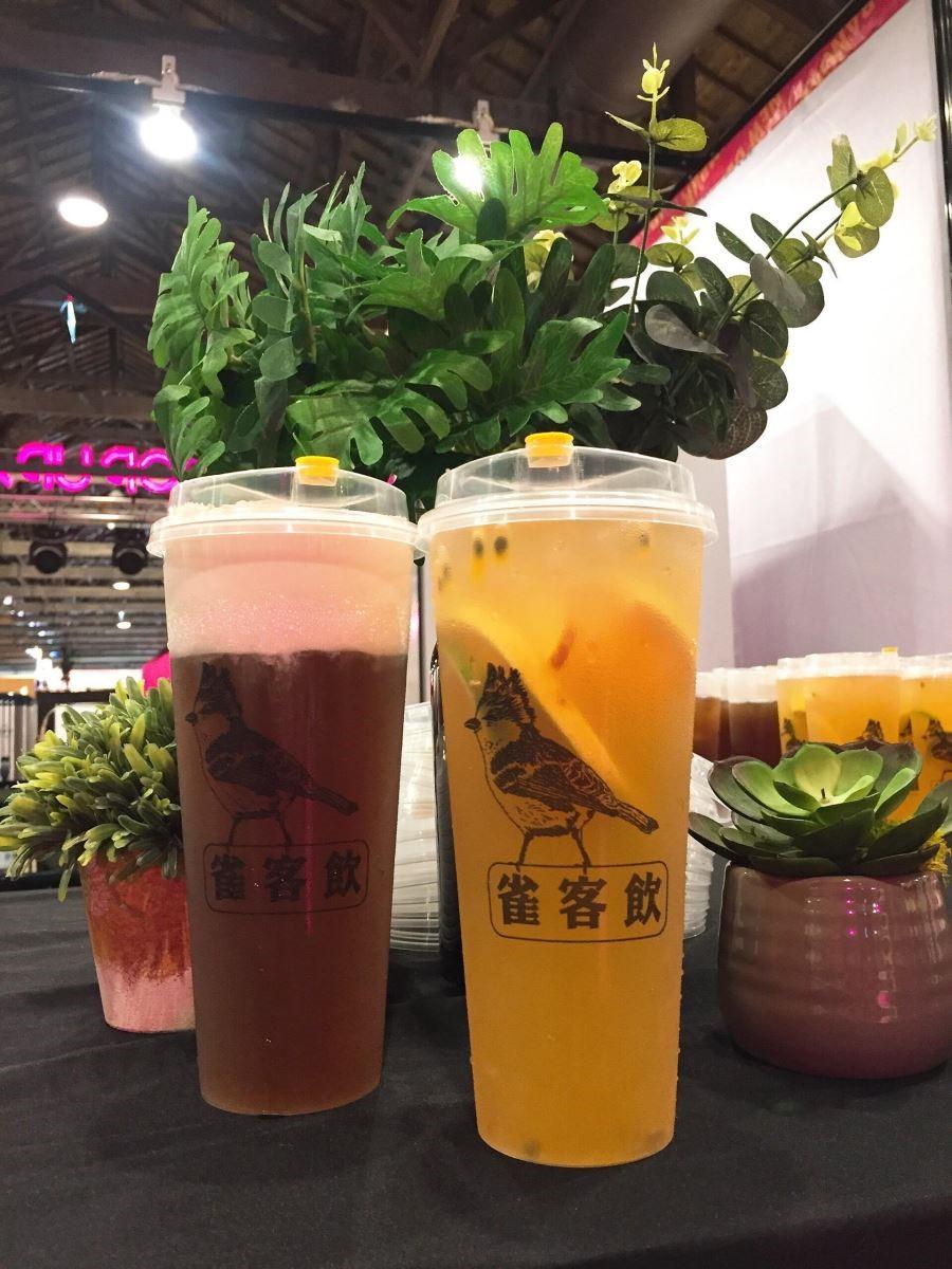 奶蓋茶專門店,雀客飲4天皆進駐展場內部。