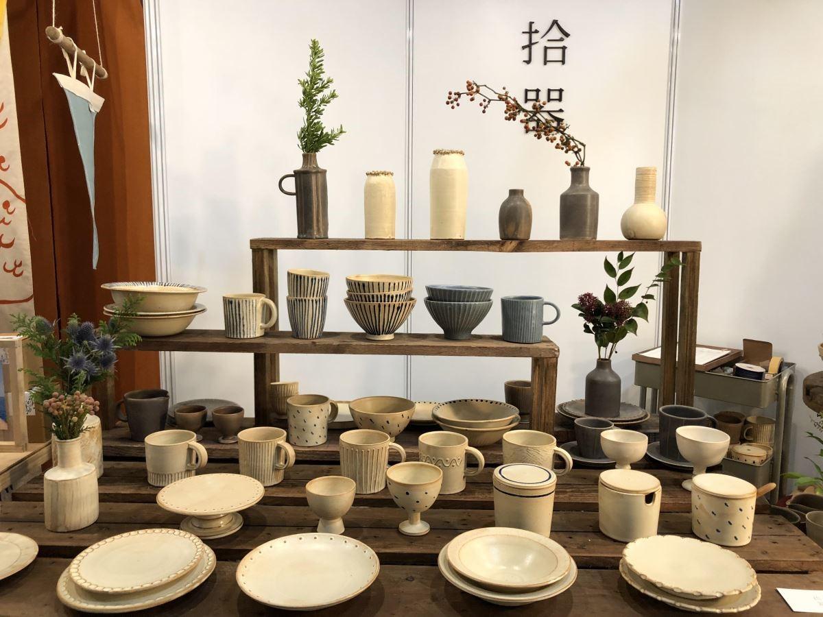 「拾器」以日常生活為靈感,突顯陶土的原質,點綴小巧思,耐看也實用!