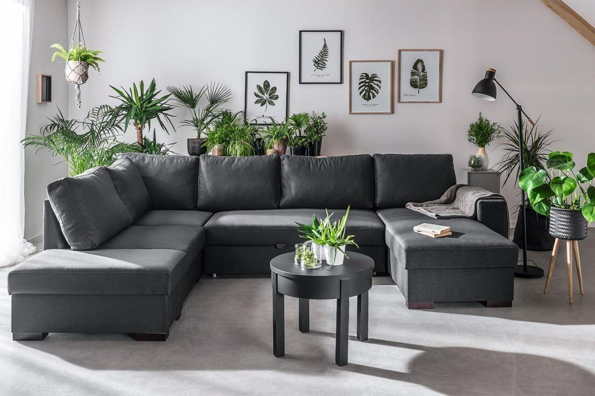 Como系列以簡單傳統造型為基礎,創造超大使用面積,家人圍坐的時刻更溫馨。(尺寸:寬311 深144 高88cm Seeping area:140x266)