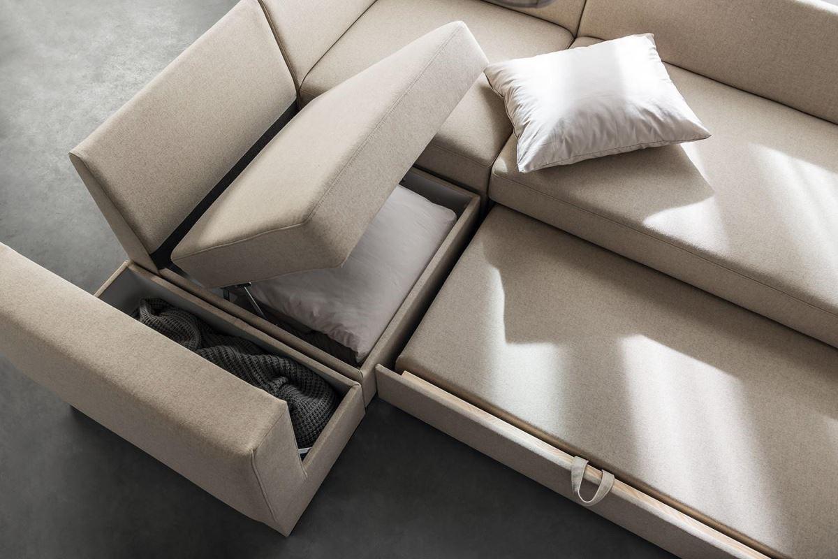 Chester系列沙發附加貼心的收納機能,是家具也是好用的收納暗櫃。
