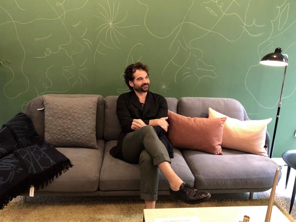 Jaime Hayon接受設計家網站訪問。