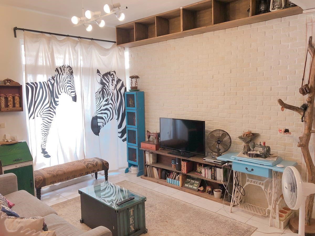 客廳完工後。