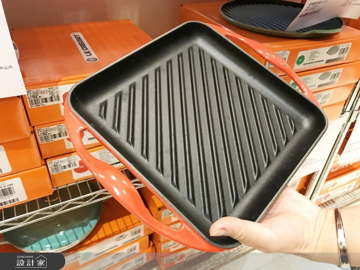鑄鐵雙耳正方烤盤(原價NT.7000,特價NT.3000)