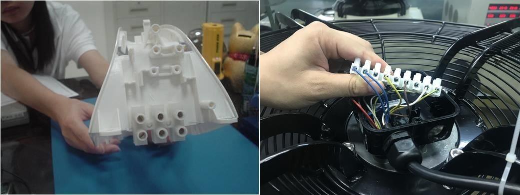 小熨斗、電風扇等居家必備家電,都能藉由連接器保障用電安全。