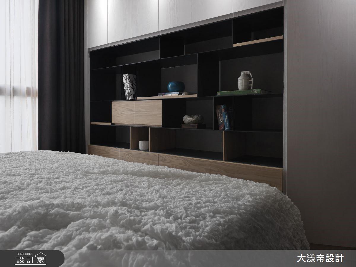 40 坪的休閒風居家,設計師援引日式禪元素,搭配現代