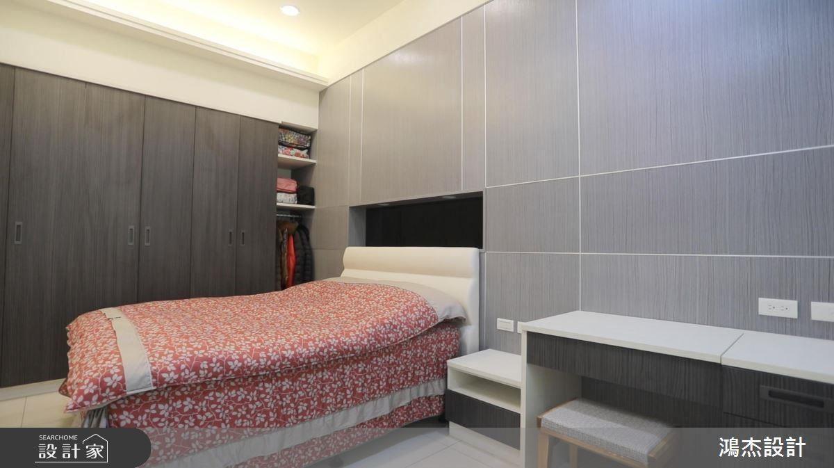 孝親房以木紋鋪陳呼應整體風格,更展現私領域柔和表情。