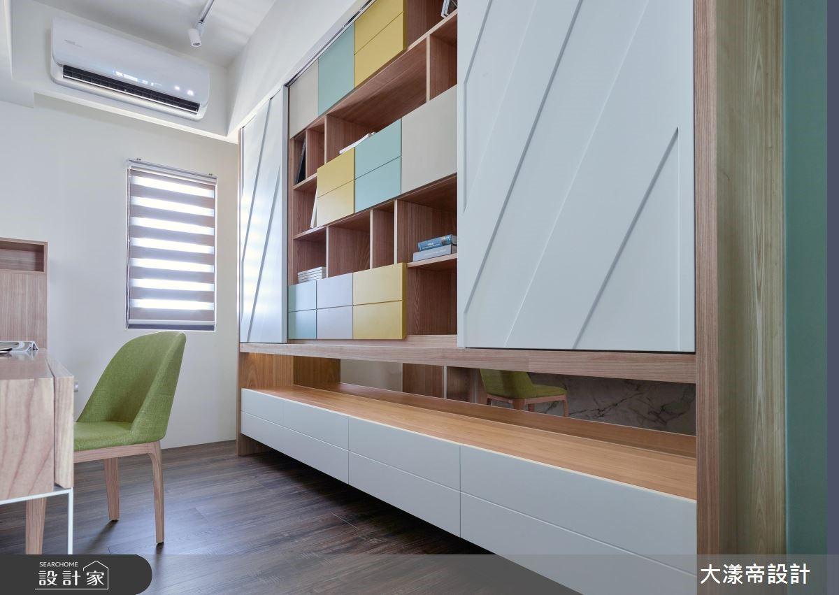 喜愛簡約現代風的屋主夫妻倆,在新家裝潢上有非常高的