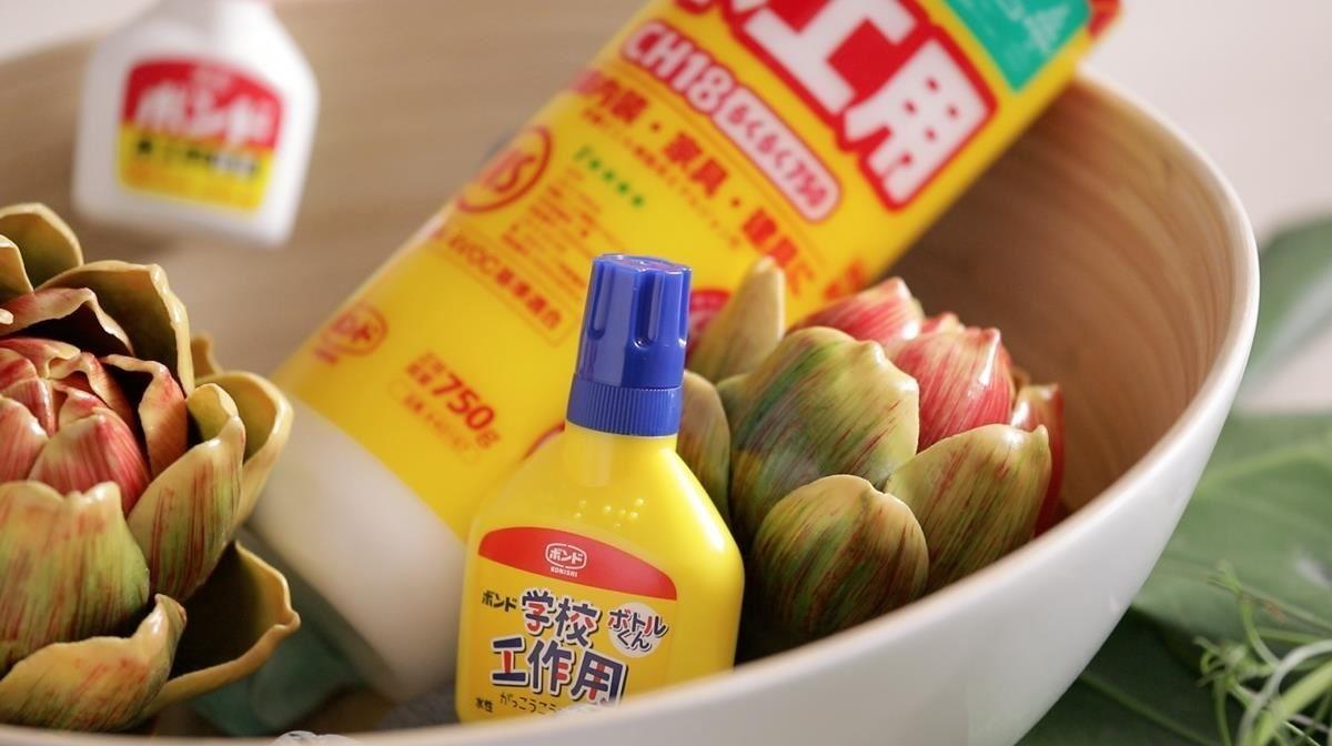KONISHI CH38 環保木工用白膠,不僅具有強大性能、更同時符合日本F4星級標準,是公認最優良的接著劑。