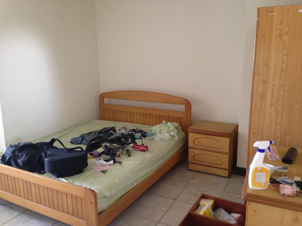 房間改造前。