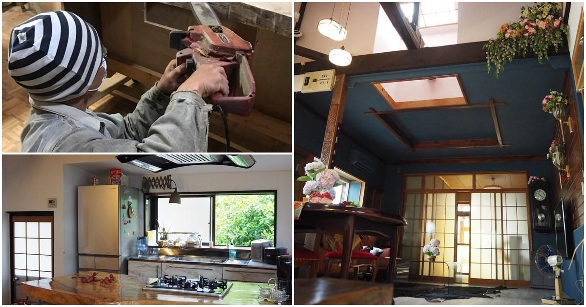 媲美日劇《王牌大律師》場景!二手家具改造 40 多年老屋,變身和洋折衷美宅