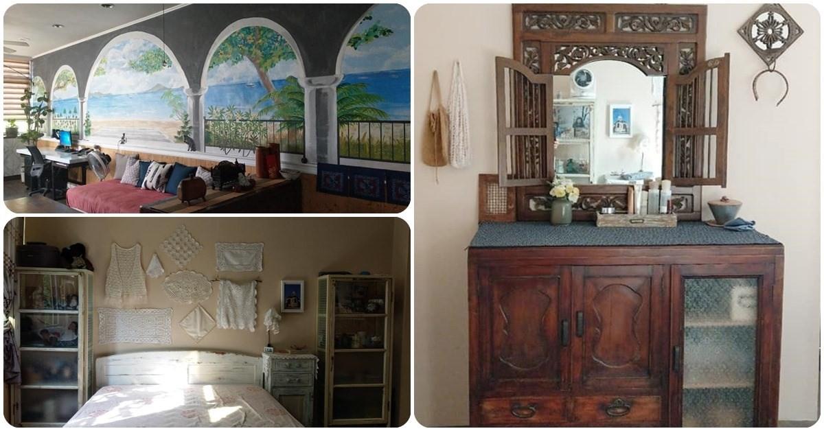 老屋翻新靠自己 DIY!超強老媽花 13 年半收集二手家具,創造專屬浪漫家居