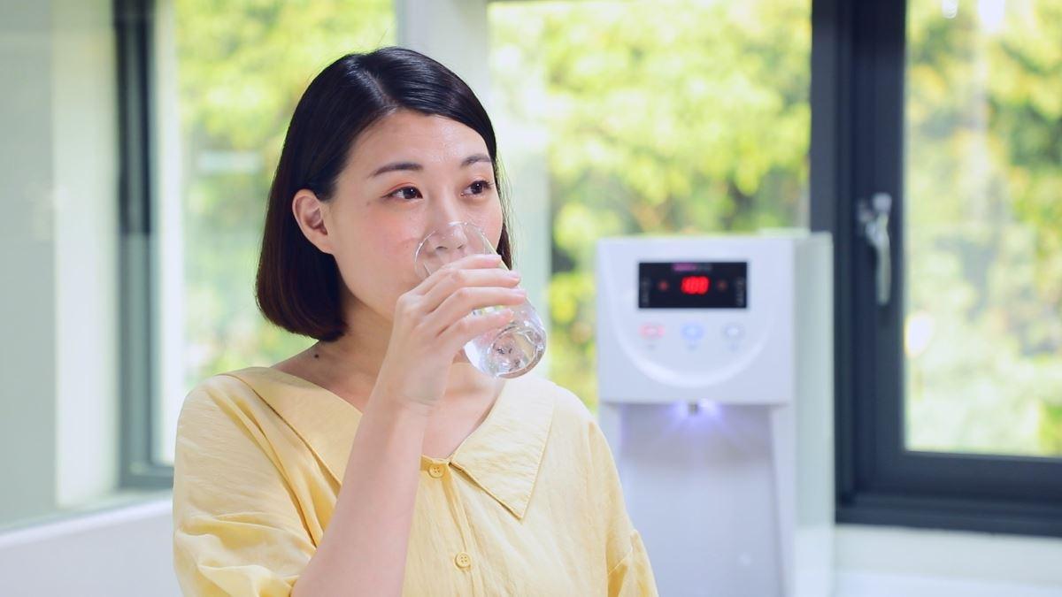 推廣 RO 水源,雖缺少礦物質,但無重金屬離子。