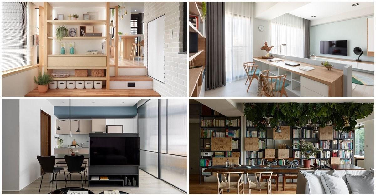 原來背面隱藏著超強收納!17 款雙面牆 & 雙面櫃設計,幫你家放大坪效