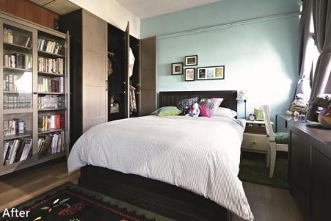 遊子返鄉創意大改造 雜物房變身夢幻臥室