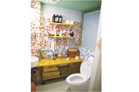 解決衛浴衛生用品、清潔用品收納