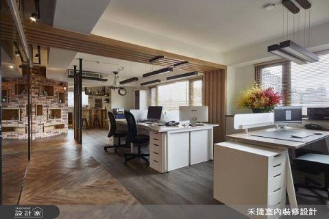 老屋大改造 我的復古工業風辦公室 禾捷室內裝修設計有限公司 周湧鈞