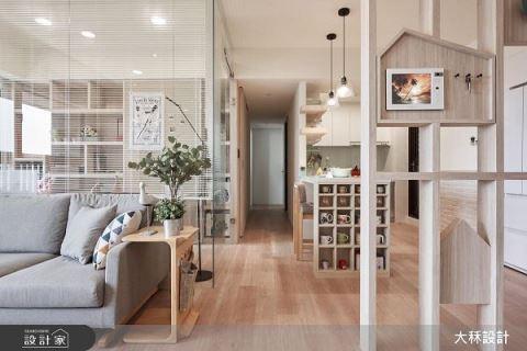 打開小坪機能 居家擁有無印休閒感 大秝空間設計 / 建築規劃 劉映辰 蔡顯恭