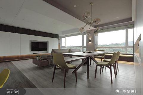 坐擁綠意山景 開闊流動休閒宅 傳十空間設計 許天貴、李文心