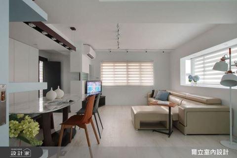 工作 X 生活一次到位 單身女子的20坪簡約居宅 爾立室內設計 吳婉綾