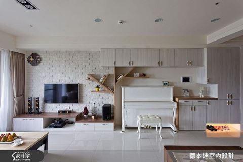 抓緊你的視線 創意造型描繪23坪居家趣味 德本迪室內設計有限公司 宋雯鈴 宋志鍾