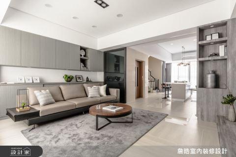 智慧彙整空間收納 60坪居家享有多重視覺魅力 詹晧室內裝修設計有限公司 詹晧