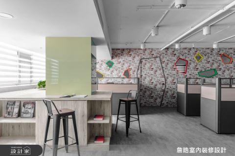 滿分視覺創意 老屋變身彩色趣味辦公室 詹晧室內裝修設計有限公司 詹晧
