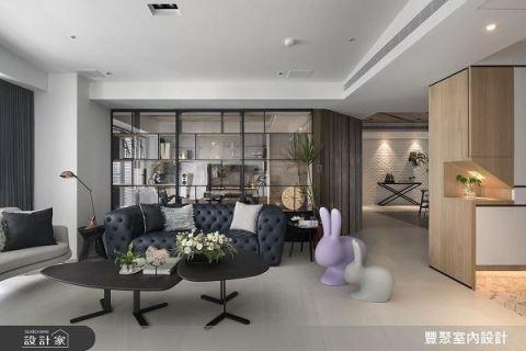 好舒壓的現代宅 讓你回家充電再出發 豐聚室內設計 黃翊峯、李羽芝