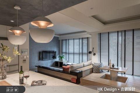 品味新婚生活魅力 創造多重生活感空間 合觀室內裝修工程股份有限公司 黃俊豪、陳耿興