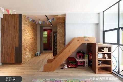 18坪老屋生活新樣貌 色彩繽紛LOFT風 九思室內建築事務所 張簡千慧
