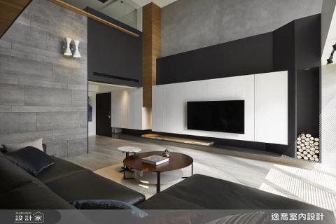 80坪的現代樓中樓三代同堂宅邸 逸喬設計 蔣孝琪