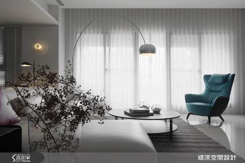 用光與影交織的時尚現代宅 頑渼空間設計 洪淑娜