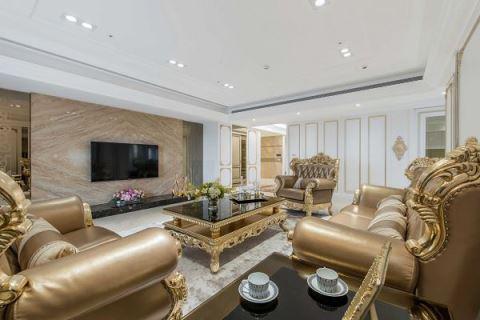一條龍尊榮服務 打造一眼看不盡的豪宅風情 帝谷室內裝修設計有限公司 陳薇雅
