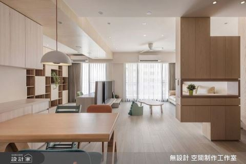 最純樸的木味 療癒從進門開始 無設計 空間制作工作室 吳曜宇