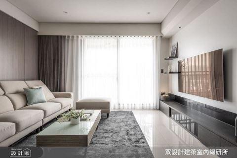 40坪原木溫暖紓壓宅 系統系收納滿足需求 双設計建築室內總研所 顏義洋 張合群