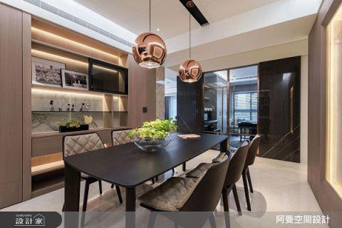 用設計將大器優雅搬進50坪現代時尚宅 阿曼空間設計 王光宇