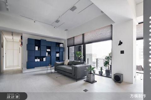 回歸自然淨透光景 42坪現代減壓風格宅 方構制作空間設計 彭任民