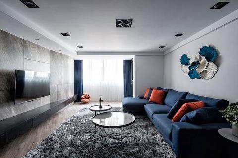 【Promote】藍與橘的邂逅  延續小夫妻的幸福回憶 奇拓室內設計 劉子旗、高紫馨