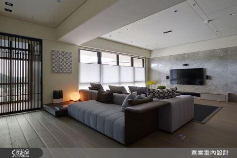 坐享2種生活 機能美感到位 47坪現代宅 宣棠室內設計 李宜達
