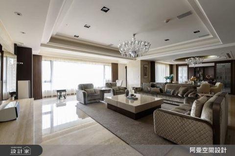 百坪的時尚魅力 入住典雅奢華現代宅 阿曼空間設計 王光宇