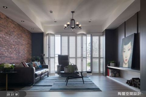 色彩 X 材質混搭 打造65坪美式質感好生活 陶璽空間設計 林欣璇