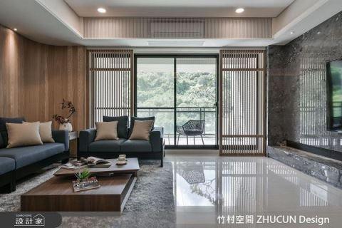 坐擁自然美景 新東方中的禪意居宅 竹村空間 ZHUCUN Design 魏立彥