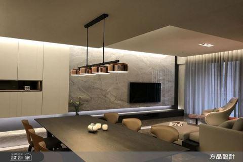 典雅高尚遇上沉穩大器 打造品味現代宅邸 方品室內裝修設計工程有限公司 張紜珮