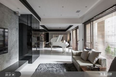 現代爵士宅 為空間唱起悠然旋律 浩室設計 邱炫達