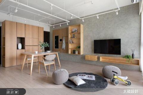 16坪零浪費 沒有門的主臥竟這麼棒 太硯室內裝修有限公司 高詩杰
