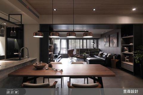 格調現代宅 每個角度都景深十足 昱森室內裝修有限公司 陳彥豪