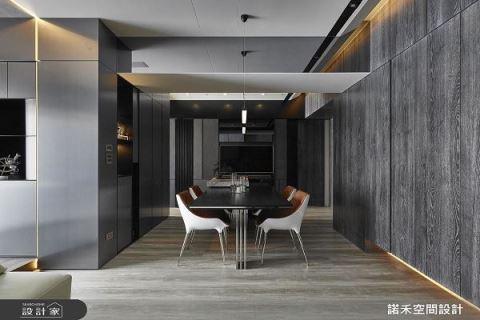 電視牆也瘋狂 換來25坪寬闊現代宅 諾禾空間設計 張家翰、謝崇孝